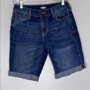 Old Navy Denim Bermuda Shorts Sz 0